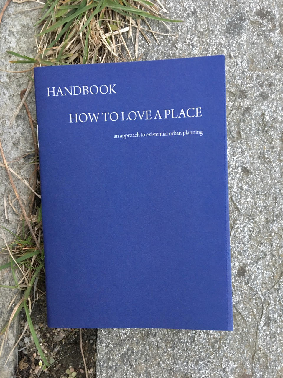 Handbook How to love a place